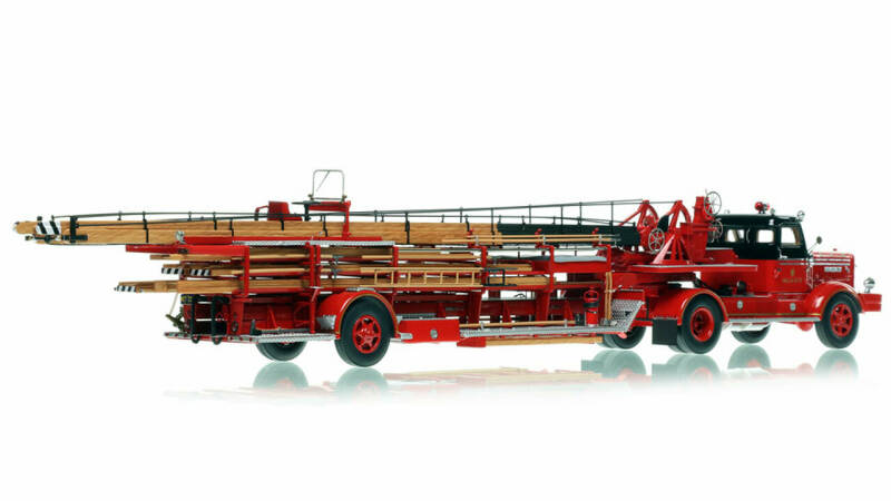 Fire Replicas - Chicago Fire Department - 1954 FWD Tractor-Drawn Aerial - H&L Company 33