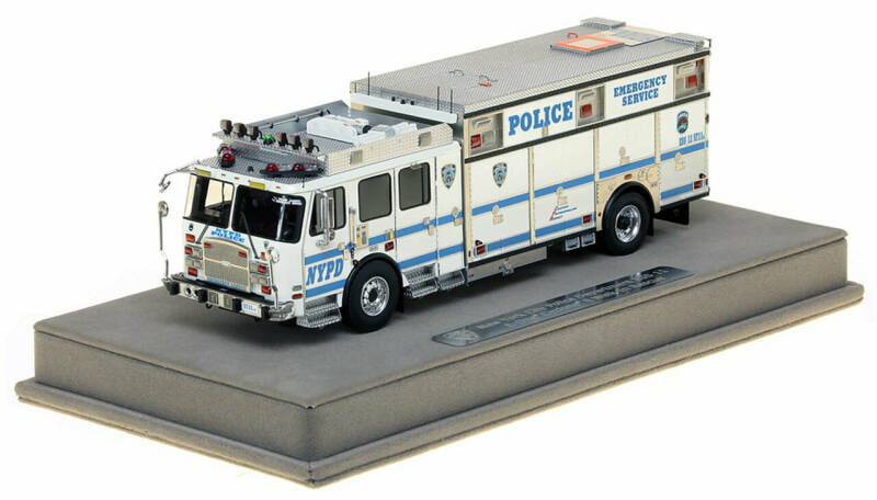 Fire Replicas - NYPD - ESS 11 Special Events - Brooklyn