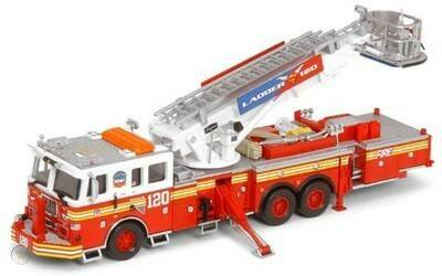 Code 3 Collectibles - FDNY - Tower Ladder 20