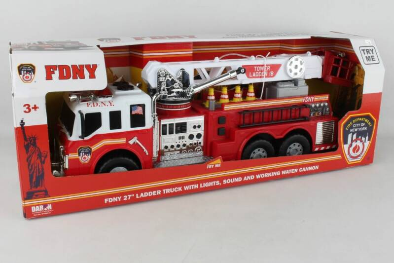 FDNY - Fire Tower Truck with Water Pump