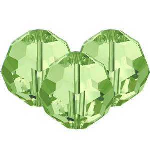 Swarovski Faceted Rounds (5000) 8mm Peridot Green