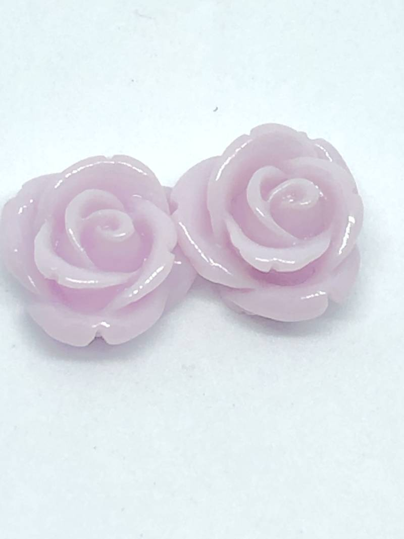 Rose Beads Lt. Purple 12mm
