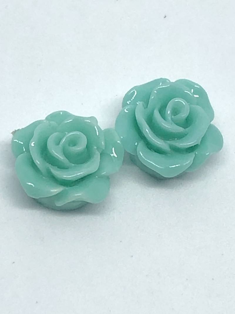 Rose Beads Mint Green 1omm