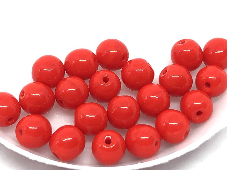 Round Beads Glass 6mm