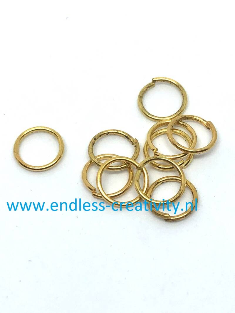Jumpring Gold 7mm