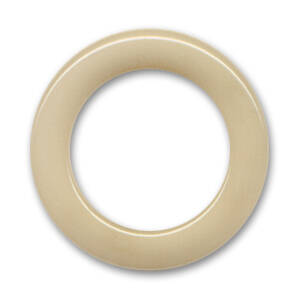 Non Drilled Resin Ring 40mm Chalk Sand (PRE ORDER)