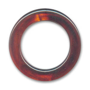 Non Drilled Resin Ring 40mm Imitation Amber (PRE ORDER)