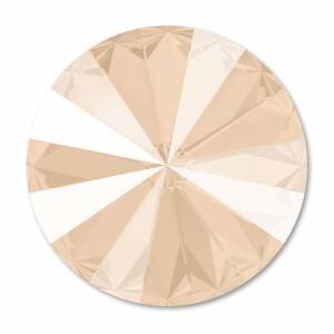 Swarovski Rivoli 1122 14mm Crystal Ivory Cream
