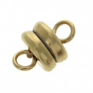 Magnetic clasp 9x6mm Gold tone