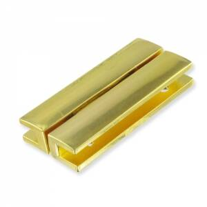 Magnetic Clasp 40x18mm Gold Tone