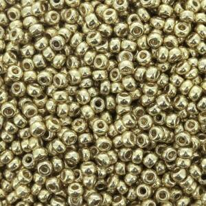 Seedbeads 11/0 DC Galvanized Pale Gold 5101