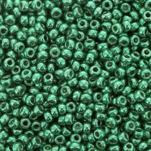 Seedbeads 11/0 Galvanized Dark Mint Green 5105