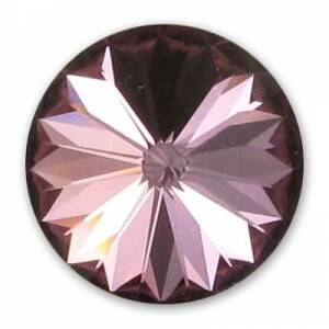 Swarovski Rivoli 1122 14mm Crystal Antique Pink