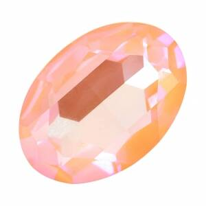 Swarovski Oval Fancy Stone 4127 / 30x22mm Crystal Peach DeLite