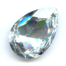 Swarovski Pear 4327 / 30x20mm Crystal