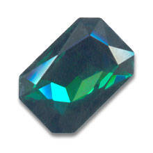 Swarovski Rectangle Fancy Stone 4627 27x18,5mm Emerald