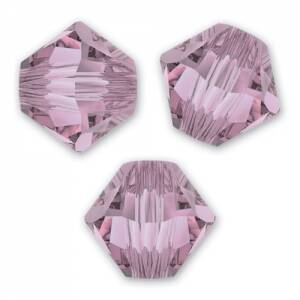 Swarovski Bicone 3mm Crystal Antique Pink