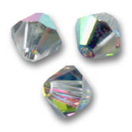 Swarovski Bicone 3mm Crystal Vitrail Medium