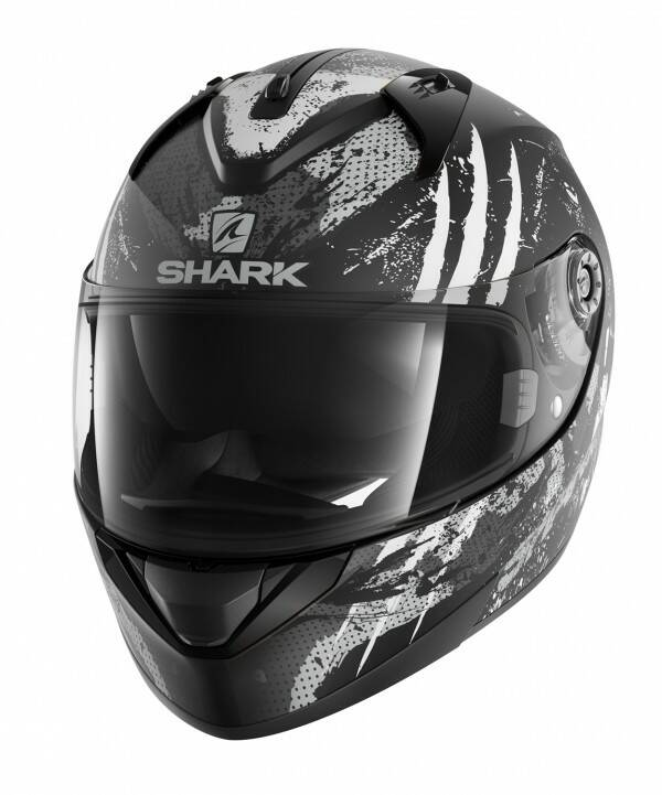 Shark Ridill Threezy Mat mat zwart/wit/antraciet