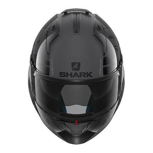 Shark Evo-One 2 Lithion Dual mat antraciet/zwart