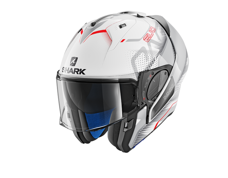 EVO-ONE 2 KEENSER WHITE SILVER RED