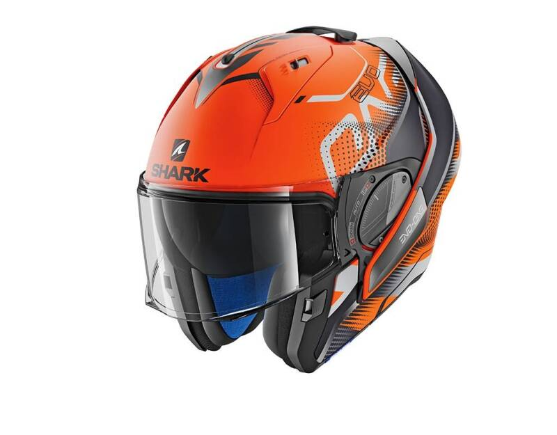 EVO-ONE 2 KEENSER MAT ORANGE BLACK ANTHRACITE