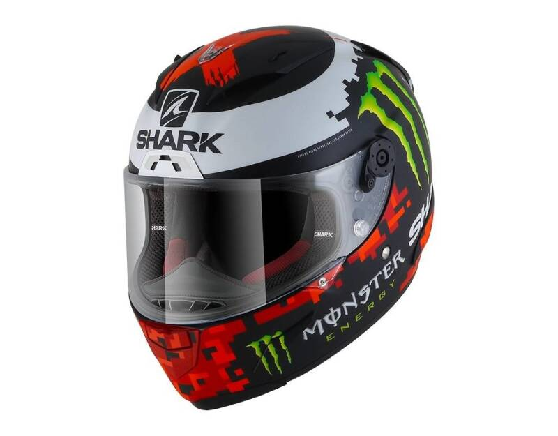 RACE-R LORENZO MONST MAT 2018 BLACK RED GREEN