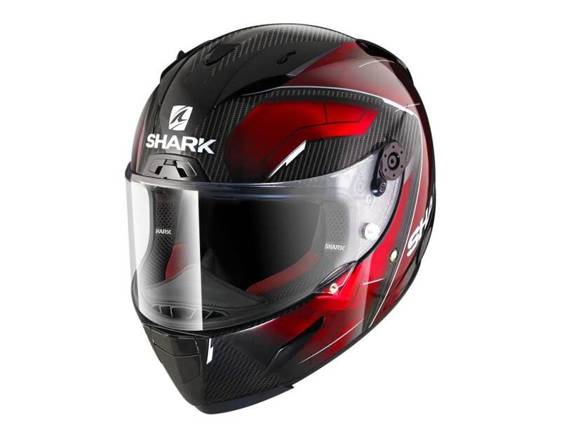 RACE-R PRO CARBON DEAGER CARBON CHROME RED