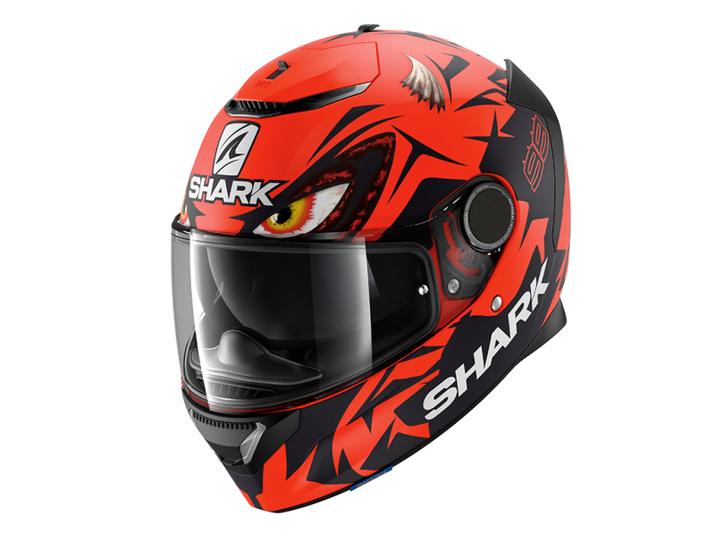 SPARTAN 1.2 LORENZO MAT GP RED BLACK RED