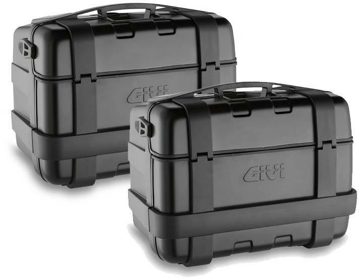 TRK46BPACK2- SIDE-CASE 46 LT BLK SET 2P