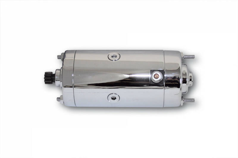 Starter, chrome, for various HD, FLH / FLT / FXR / XL 75-83, Prestolite type.