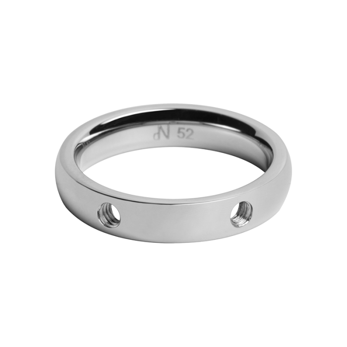 daNicci ring Double 4mm Silver