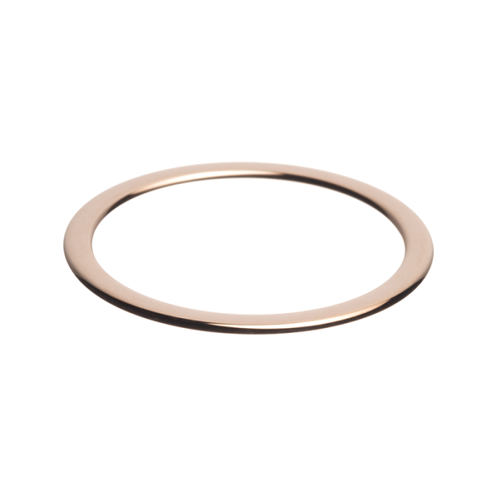 daNicci side ring 1.5 mm Glimmend Rosé-gold