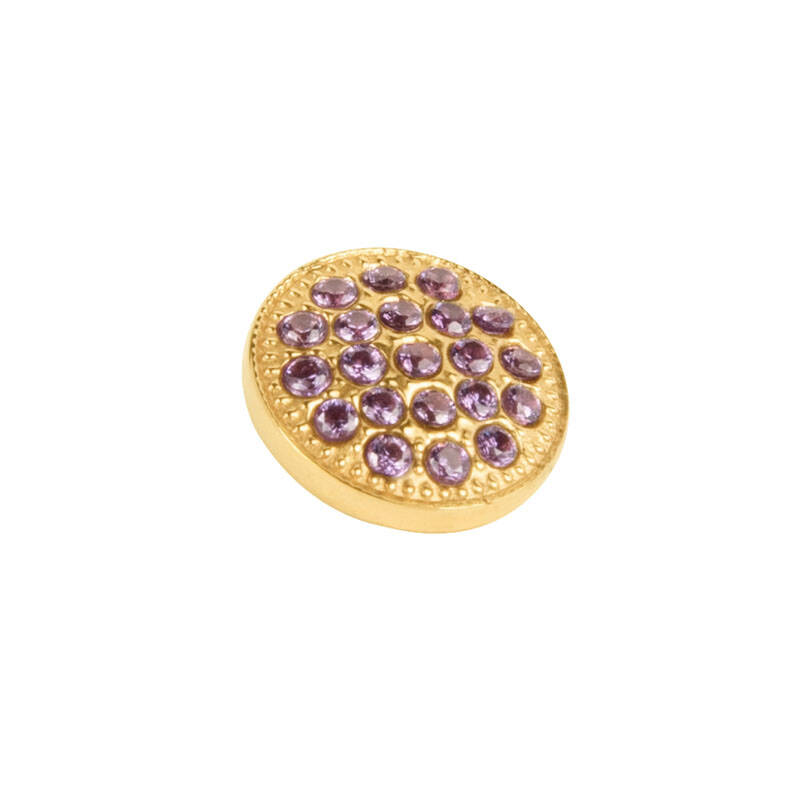 daNicci Twinkle 10 mm Goud Purple