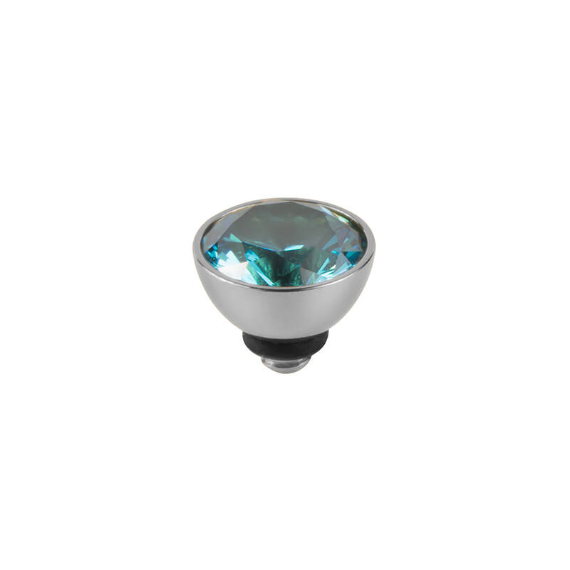 daNicci Beauty 7mm Silver Aqua-Blue
