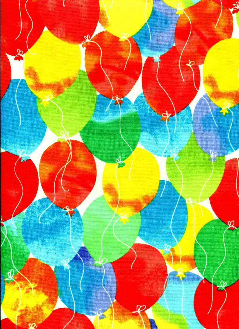 Babies and children balloons all over