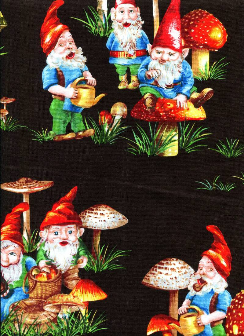 Babies and children happy gnomes