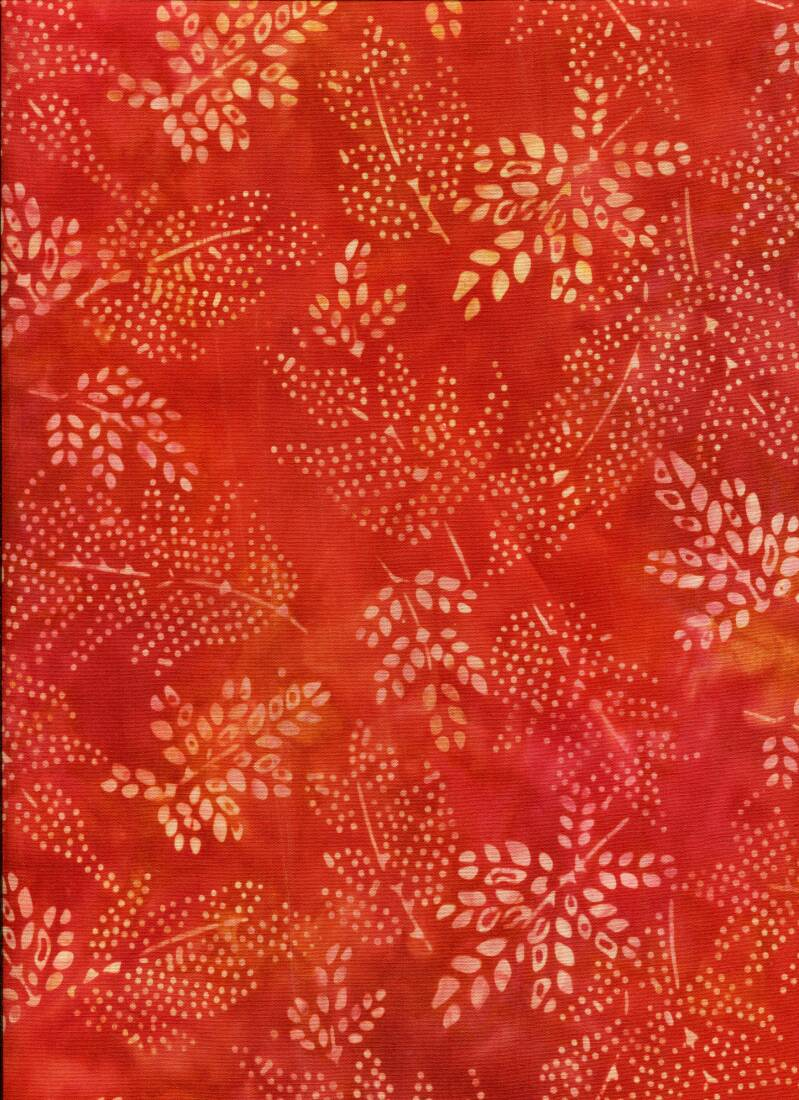 Batiks elementals red flame
