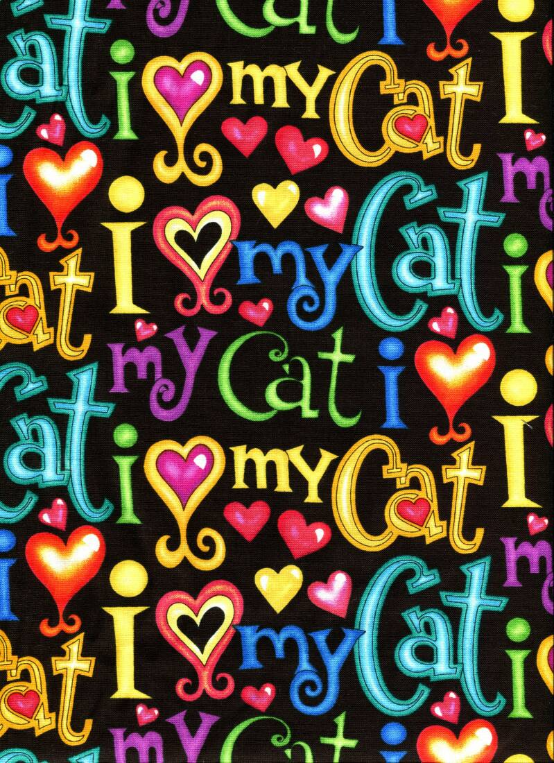 Cats and dogs I love my cat