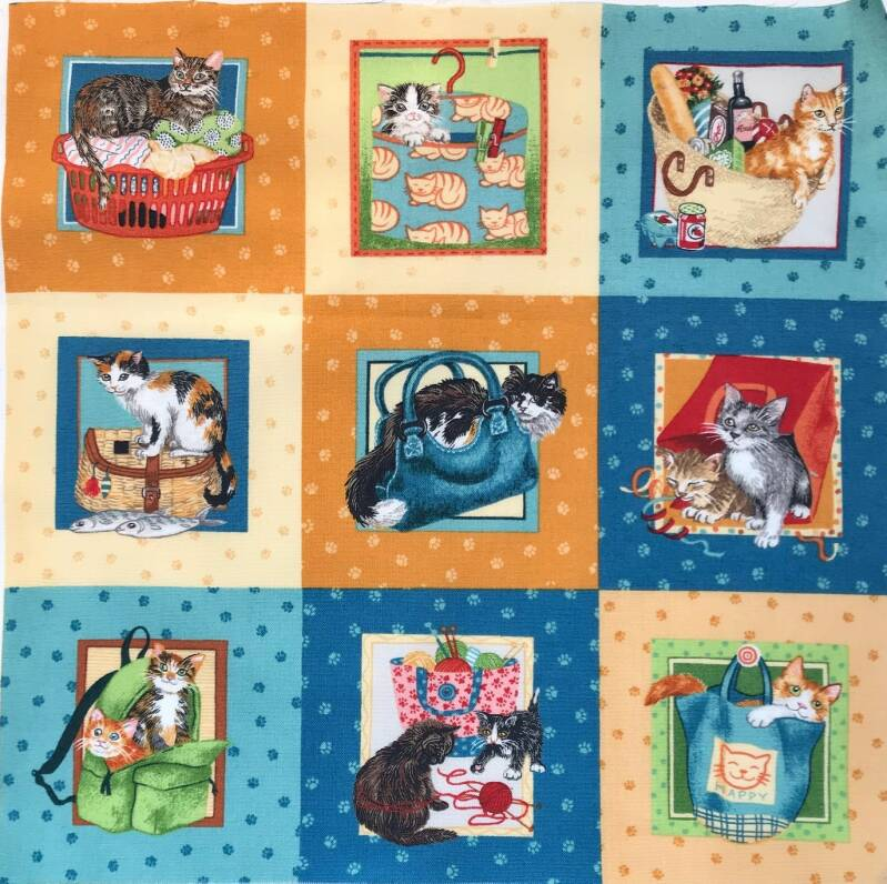 Cats and dogs labels 6