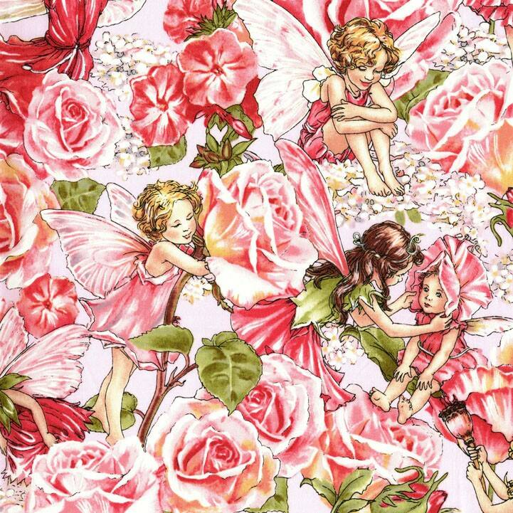 Flower Fairies - DC4220-ROSE-D