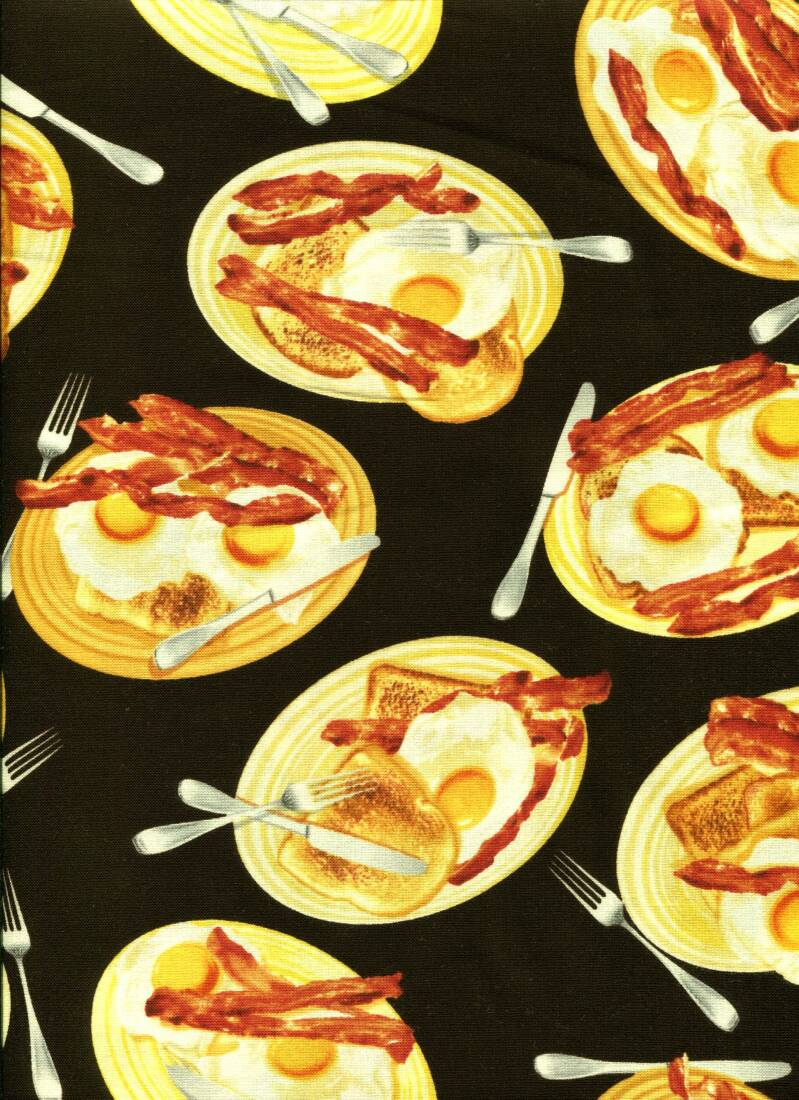 Food food bacon and eggs