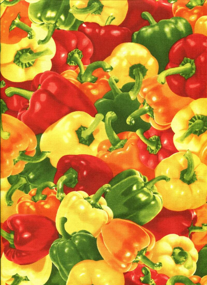 Food Bell peppers multi colors ao