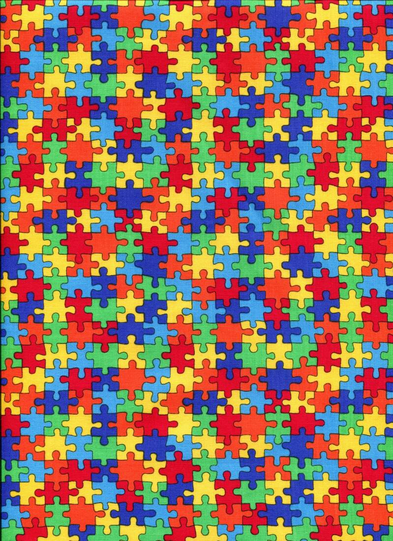 Geometric Puzzles all over