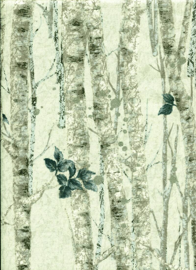 Nature Wintertrees with silver