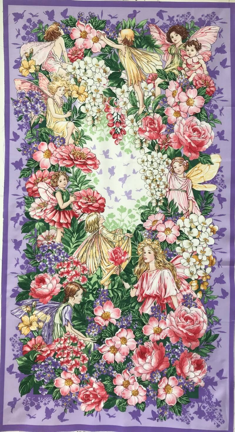 Flower Fairy dreams Panel 60x110cm