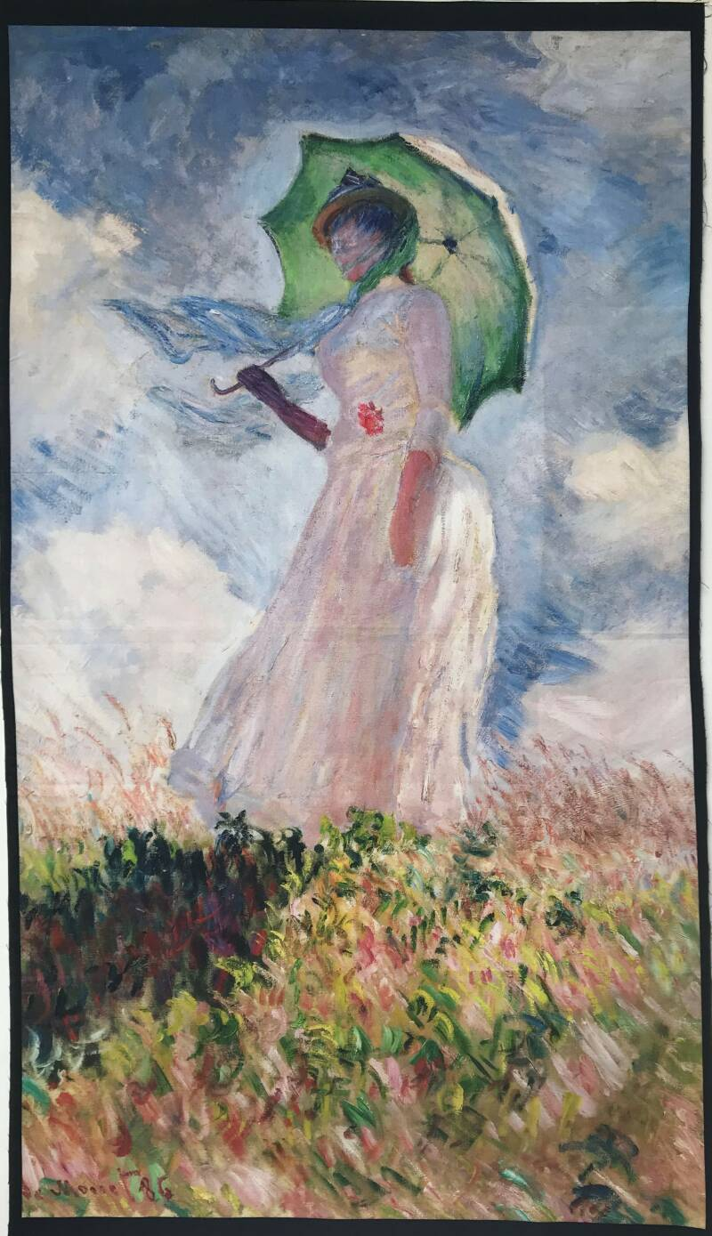 Art panel Monet 60x110cm