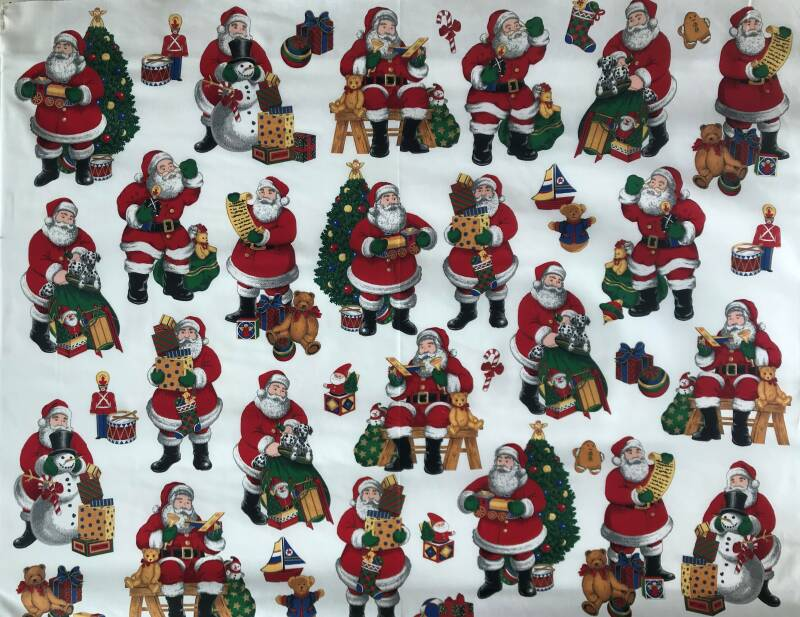 Christmas santa claus Panel 90x110cm
