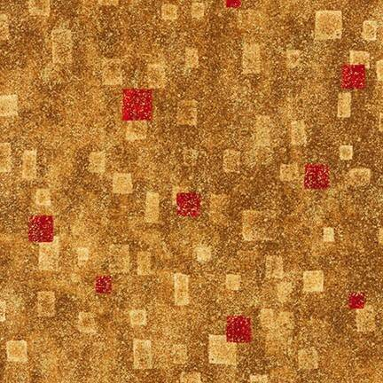 Art Gustav Klimt metallic - SRKM-17181-3 RED