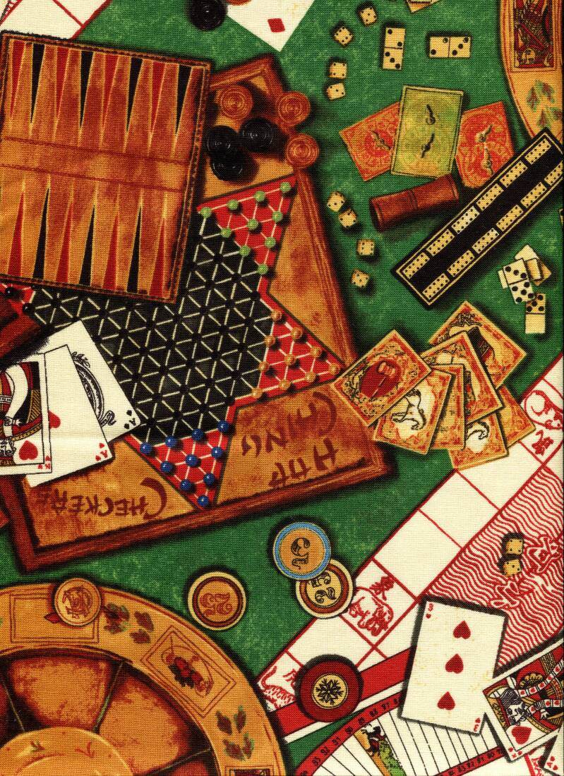 Sports and games playing roulette